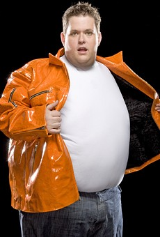 Ralphie May: A big man. He comes to St. Louis on February 26.