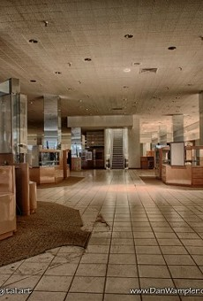 Photographer Dan Wampler was given access to the empty mall.