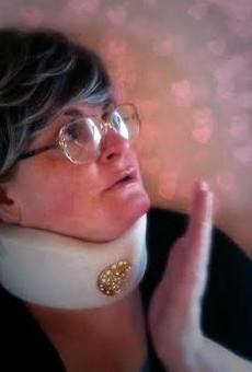 No one works a broach like Claudette Higgins.