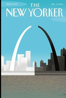 The New Yorker  December 8 cover.