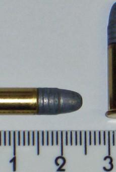 A .22 Long Rifle round.