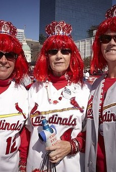 A few members of Cardinal Nation.