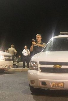 St. Louis County police officers have been investigating protesters since the Michael Brown shooting.