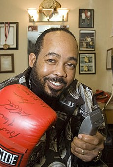 Pugilist Turned Pastor is Ready to Preach; Call Him on His Cell Phone