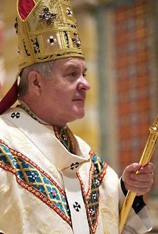 Archbishop Robert Carlson.