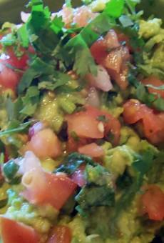 Freshly prepared guacamole at Fiesta! Modern Mexican.