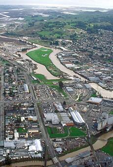 Petaluma, California, the home of Lagunitas Brewing Company