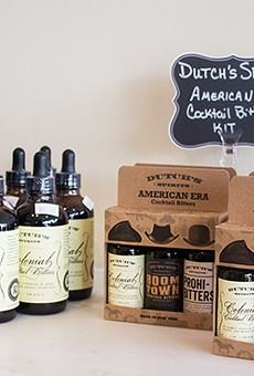 Best-selling bitters kits at Larder & Cupboard. | Photos by Mabel Suen