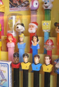 Own a piece of Blueberry Hill history -- like Pez dispensers.