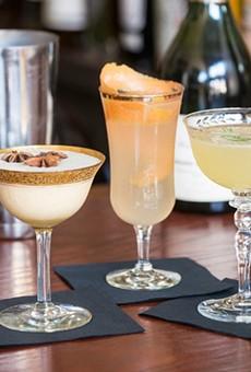 Cocktails at Brasserie. | Corey Woodruff