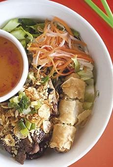 The bun dac biet at Dao Tien Vietnamese Bistro