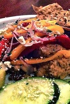 #49: Hummus and Balela Platter at Nosh Bistro