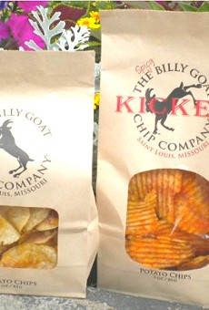 Billy Goat Chips, now in two flavors