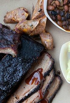 Barbecue from Brew & Q participant, Sugarfire Smokehouse. | Jennifer Silverberg