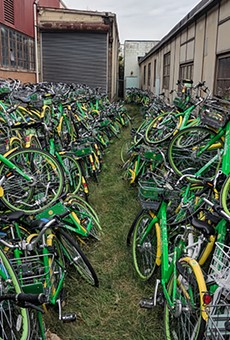This isn't a bike graveyard, Lime insists, but more of a hospital waiting room.