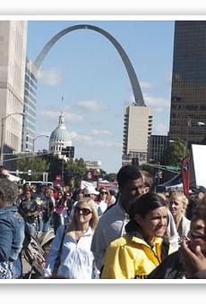 Taste of St. Louis, when it was downtown. Tear. | Sarah Rusnak