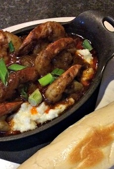 Cajun shrimp. | Mary  Belzer