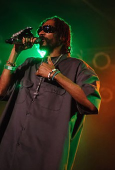 Snoop Dogg at Pop's, 5/25/12: Review, Photos and Setlist