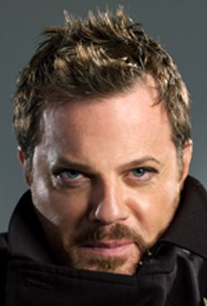 Eddie Izzard performs his one-man show on Saturday night at the Fabulous Fox Theatre.