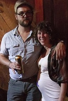 The author and her boyfriend Ryne Watts of the Hobosexuals