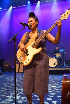 Tonina performing at the Sound of St. Louis Showcase at the Grandel in September.