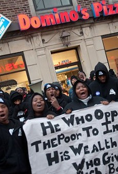 Fast food workers took to the streets in 2013, part of St. Louis' long slot toward finally getting a minimum wage increase.