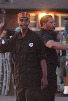 """Olajuwon """"Ali"""" Davis, left, pleaded guilty to planning bomb attacks against targets in St. Louis."""
