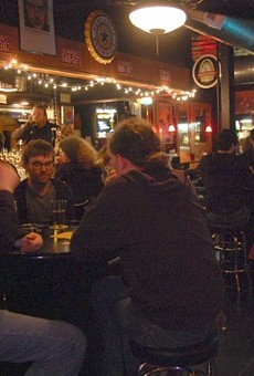 Lovers of music trivia show their stuff at the now-shuttered Bleeding Deacon.
