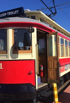 The Loop Trolley keeps blasting its horn after hours, according to neighbors.