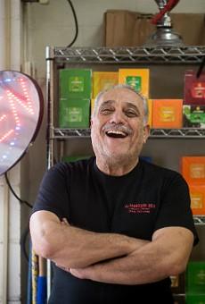 "Sleiman ""Sam"" Bathani was a popular singer before leaving music for the restaurant business."