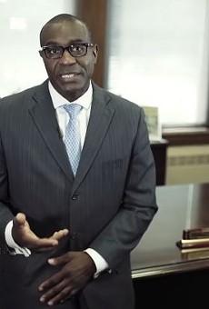 St. Louis Board of Aldermen President Lewis Reed.