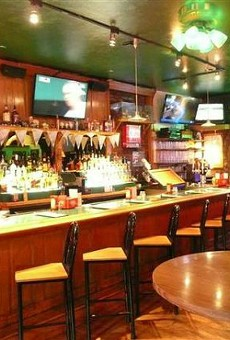 The interior of Johnny's Restaurant & Bar