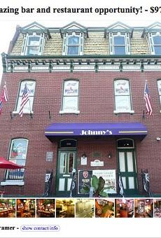 Update: Johnny's Restaurant & Bar is Still for Sale