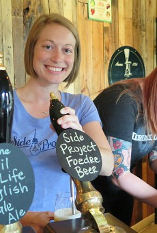 Side Project Cellar Co-Owner and GM Karen King