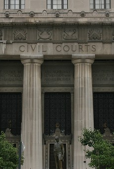 St. Louis' civil courts are a big money maker — for lawyers and for local TV stations.