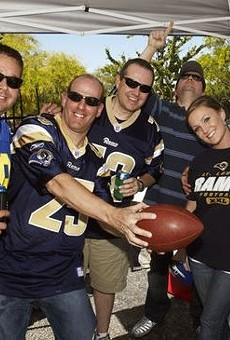 St. Louis football fans are in an emotionally distressing bind.