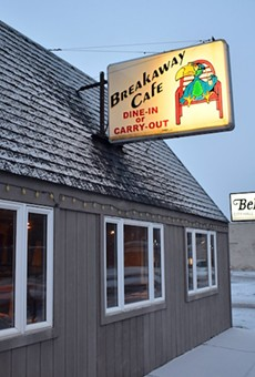 BreakAway Cafe shares a site with Bel-Nor's town hall and police department.