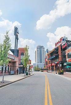 Budweiser Brew House is part of the Ballpark Village complex adjacent to Busch Stadium.