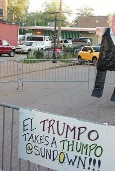 Angry Trump Fans Respond to Pinata Bashing