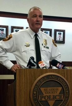 St. Louis County Police Chief Jon Belmar is promising to review Justice Department findings on his department.