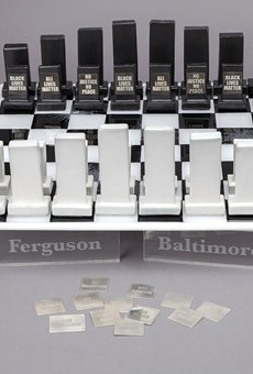 How a St. Louis Artist Took on Ferguson — and Race Relations — in a Chess Set