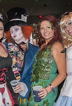 Halloween fun at Ballpark Village last year.