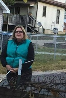 Police have arrested this woman and identified her as Kathryn Stout.
