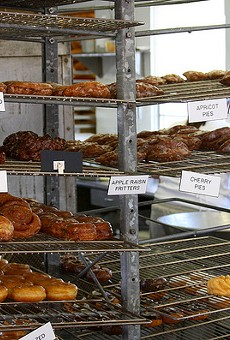The Donut Stop has 103 types of donuts on offer.