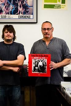 Joe Stulce and Tim Lohmann, owners of Planet Score.