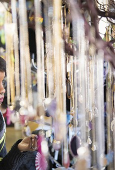 Shopping in the Delmar Loop: Jewelry, Books and Candy