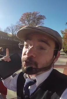 """Idiot """"Preacher"""" Gets Punched at Mizzou After Invoking the Death of Michael Brown"""
