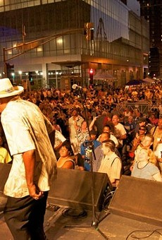 St. Louis' Bluesweek festival, which moved to Chesterfield in February 2014 as Summer Rocks legislation was in process.