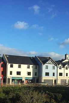 Carndonagh, Ireland — part of the Republic of Ireland, but from the nation's far northern tip.