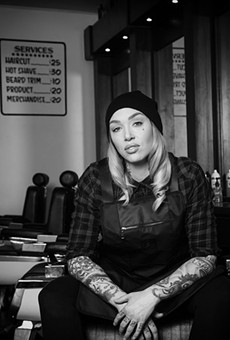 Megan Stewart leads the crew at Union Barbershop in Soulard.